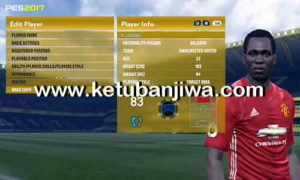 PES 2017 Option File 1.0 For PTE Patch by Aldivio