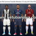 PES 2017 Option File Update 15 July 2017 For PTE 5.3