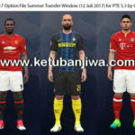 PES 2017 Option File For PTE 5.3 Update 12 July 2017