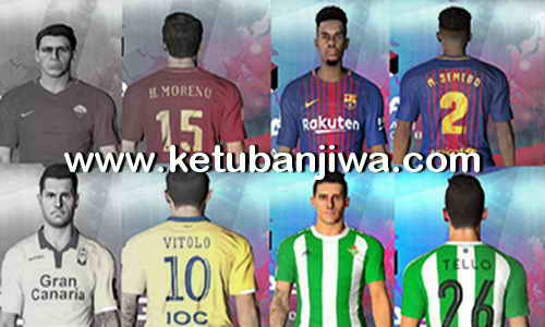 Download PES 2017 Option File Transfer Update 16 July 2017 For PES Professionals Patch 3.1 Ketuban Jiwa