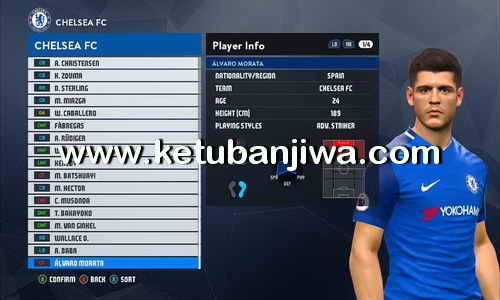 PES 2017 Option File Transfer Update 20 July 2017 For SMoKE Patch 9.4.2 by Mohammad Mistarihi Ketuban Jiwa