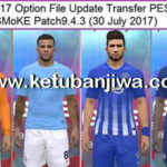 PES 2017 Option File Update 30/07/2017 SMoKE 9.3.4