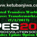 PES 2017 Option File v1 For PTE Patch Update 03.07.2017