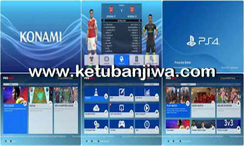 PES 2017 PlayStation Graphic Menu by ABW Ketuban Jiwa