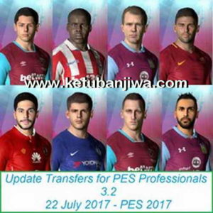 PES 2017 Option File Update 22 July 2017 Professionals 3.2
