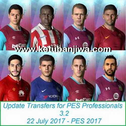 PES 2017 Professionals Patch 3.2 Option File Transfer Update 22 July 2017 by Eslam Ketuban Jiwa
