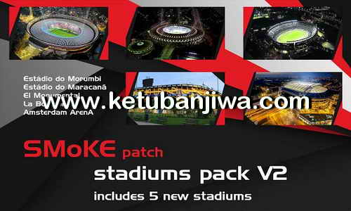 PES 2017 Stadium Unlocked For SMoKE Stadium by Sofyan Andri Ketuban Jiwa
