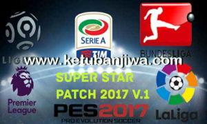 PES 2017 Super Star Patch v1 Season 17/18