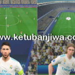 PES 2017 UCL Final 2018 + PS4 Graphic Mod