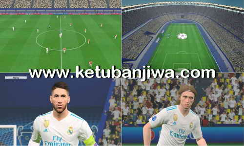 PES 2017 UEFA Champions League Final 2018 + PS4 Graphic by Estarlen Silva Ketuban Jiwa
