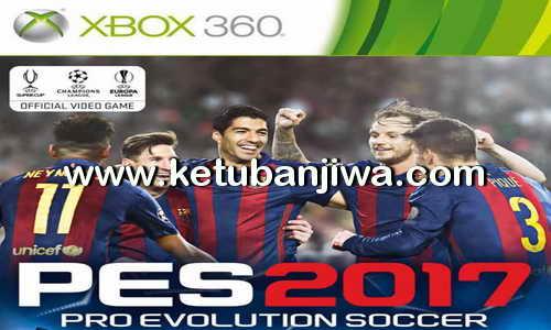 PES 2017 XBOX 360 LP Patch V7 Liga Das Americas Ketuban Jiwa