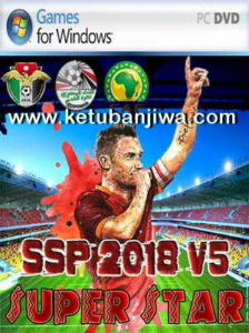 PES 6 Super Star Patch v5 HD Season 2017-2018 Ketuban Jiwa