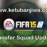 FIFA 15 Transfer Squad DB Update 25 August 2017