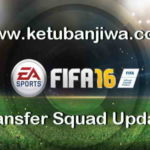 FIFA 16 Transfer Squad DB Update 25 August 2017