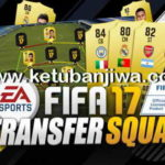 FIFA 17 Transfer Squad DB Update 25 August 2017