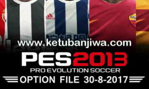 PES 2013 Option File Transfer Update 30/08/2017