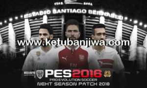 PES 2016 Next Season Patch 2017-2018