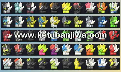 Download PES2017 Gloves Pack v3 by Tisera09 Ketuban Jiwa