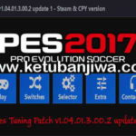 PES 2017 PES Tuning Patch v1.04.01.3.00.2 Update 1