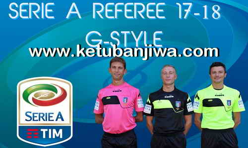 Download PES2017 Serie A Referee Season 2017-2018 by G-Style Ketuban Jiwa