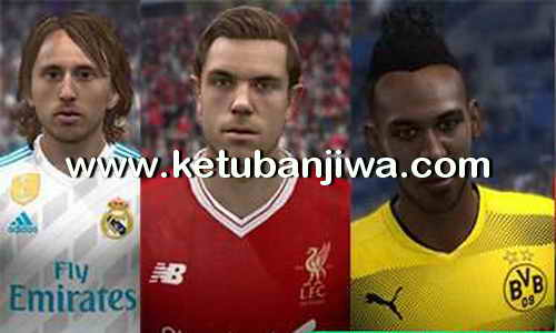 FIFA 14 Mega Kits Pack v1 Season 17-18 by Dottore Ketuban Jiwa