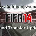 FIFA 14 Transfer Squad DB Update 25 August 2017
