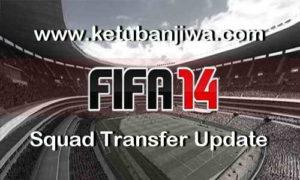 FIFA 14 Transfer Squad DB Update 31 August 2017