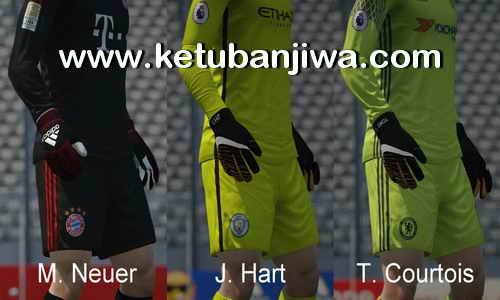 FIFA16 Gloves Pack v7.0 Season 2017-2018 by Ron69 Ketuban Jiwa