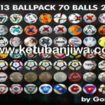 PES 2013 Ballpack 70 Balls Season 2017-2018 by Goh125