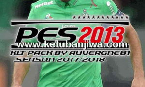 PES 2013 Kitpack Season 2017-2018 Update 06/08/2017