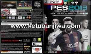 PES 2013 Next Season Patch 2017-2018 AIO Singe Link