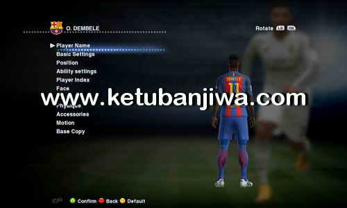 PES 2013 Option File Transfer Update 26 August 2017 For SUN Patch 6.0 + R-Patch by Boris Ketuban Jiwa