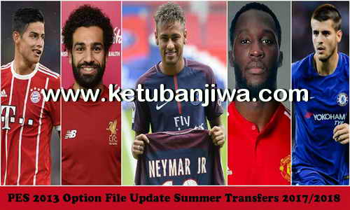 PES 2013 PESEdit Patch + SUN Patch Option File Transfer Update 12 August 2017 by Minosta4u Ketuban Jiwa