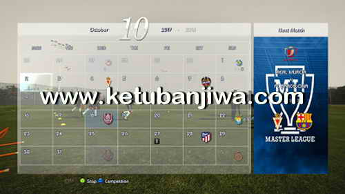 PES 2013 R-Patch v1.0 AIO Update Season 17-18 Preview 3 Ketuban Jiwa