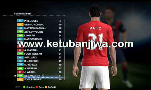 PES 2013 Sun Patch 6.0 + R-Patch Option File UpdateTransfer 05 August 2017 by Boris Ketuban Jiwa
