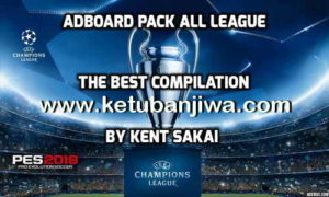 PES 2017 Adboard Pack All Leagues by Kent Sakai