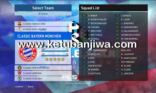 PES 2017 Classic Pack For Professionals Patch v3.4 by M.Gamal Ketuban Jiwa