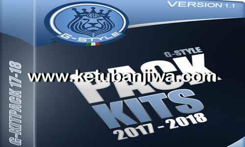 PES 2017 G-Kitpack v1.1 AIO Season 2017-2018 by G-Style Ketuban Jiwa