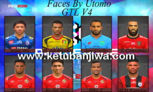 PES 2017 Gojek Traveloka Liga 1 Indonesia Facepack v4 by Utomo Ketuban jiwa