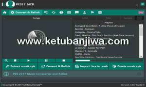 PES 2017 Music Converter Relink Tool MCR v4.0 AIO Final Version by Ginda01 Ketuban Jiwa