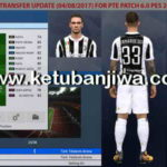 PES 2017 OF Transfer Update 04 August For PTE Patch 6.0