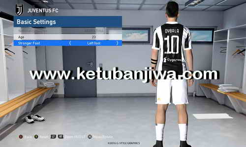 PES 2017 Option File Transfer Update 11 August 2017 For PES Professionals Patch v3.4 by Boris Ketuban Jiwa