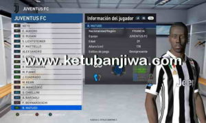 PES 2017 PESGalaxy 3.00 Option File Update 18/08/2017