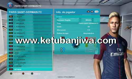 PES 2017 PES Professionals Patch v3.3 Transfer Update 02 August 2017 by ReDa Ketuban Jiwa