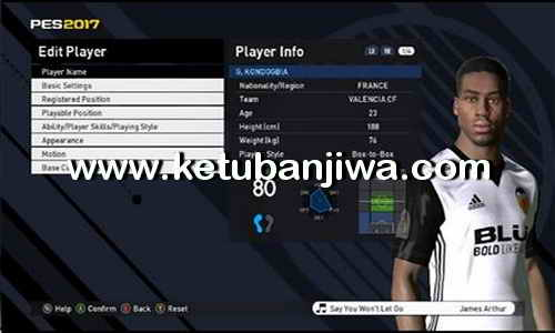 PES 2017 Professionals 3.4 Option File + Fix Formation