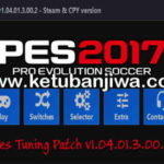 PES 2017 PES Tuning Patch v1.04.01.3.00.2 AIO