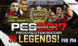 PES 2017 PS4 All MyClub Legends Pack by Junior Mantis Ketuban Jiwa