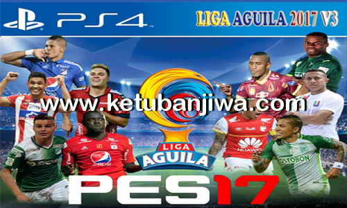 PES 2017 PS4 Option File Liga Aguila v3