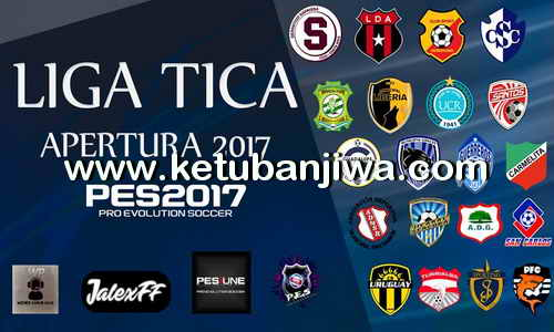 PES 2017 PS4 Option File Liga Tica Apertura by Wepes Costa Rica Ketuban Jiwa