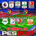 PES 2017 PS4 Option File Update Kits v4